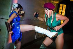Sex Fighter: Chun Li vs. Cammy...