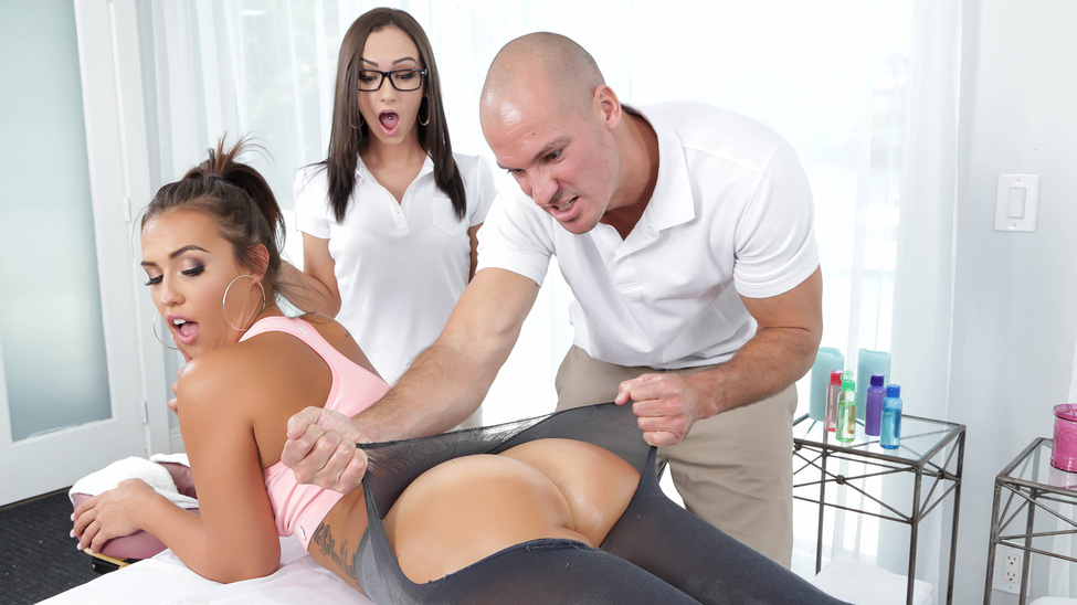 Brazzers Massage Table