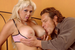 brazzers jersey james, enourmous titted milf gets fucked