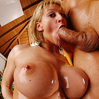 Hot anal action