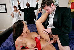 brazzers lisa ann, convincing the groom