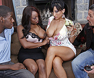 Ebony & Ivory, fucking in perfect harmony - Jada Fire - Ricki White - 1