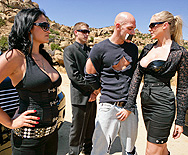 Milfland Security 2: The Drop-off - Julia Ann - Lisa Ann - Sophia Lomeli - 1