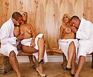 A Steamy Orgy - Carmel Moore - Bridgette B - 1