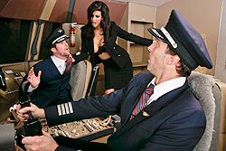 brazzers shay sights, tits on a plane part 3