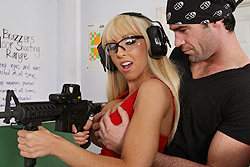 brazzers jessica lynn, you like guns? try this one
