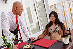 brazzers shy love, do you want dessert?