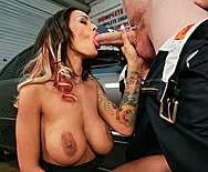 Car Shop Cum Shot - Angelina Valentine - 2