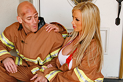 brazzers nikki benz, a hero's treatment
