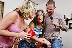 brazzers kiara diane, karaoke? suck my dick!
