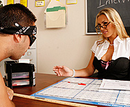 Teaching Billy's bad behavior - Tanya Tate - 1