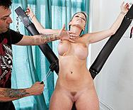 Hot Ass Chick Playing with Fire - Courtney Cummz - 1