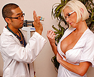 Nurse Gets The Full Body Experience - Kasey Grant - 1