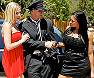 The Driver - Alexis Texas - Audrey Bitoni - 1