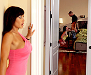 Don't Tell Mom The Babysitter's a Slut - Lisa Ann - Jennifer White - 1