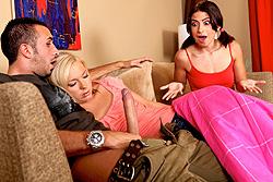 brazzers allie jordan, movie night, schmovie night. bitch, suck my cock!