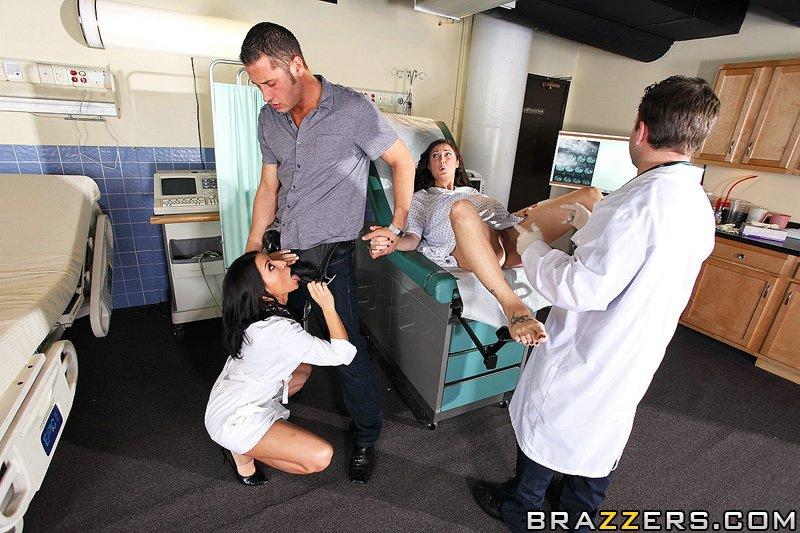 пока жена рожает можно трахнуть и медсестру Ann Marie Rios