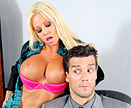 The Man Cums Around - Nikita Von James - 1