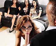 Office 4-Play - Ava Addams - Francesca Le - Vanilla Deville - Veronica Avluv - 2