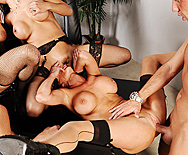 Office 4-Play - Ava Addams - Francesca Le - Vanilla Deville - Veronica Avluv - 3