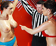 Lube-O-Mania 3000 - Brandy Aniston - Trina Michaels - 1