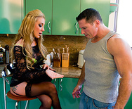 Double Teaming A Cheap Whore - Angelina Valentine - Amy Brooke - 1