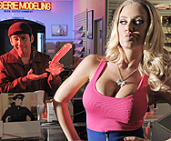 The Blindfold, The Babe and The Big Dick - Nicole Aniston - 1