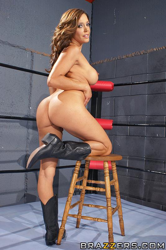 секс на ринге  Francesca Le с партнером