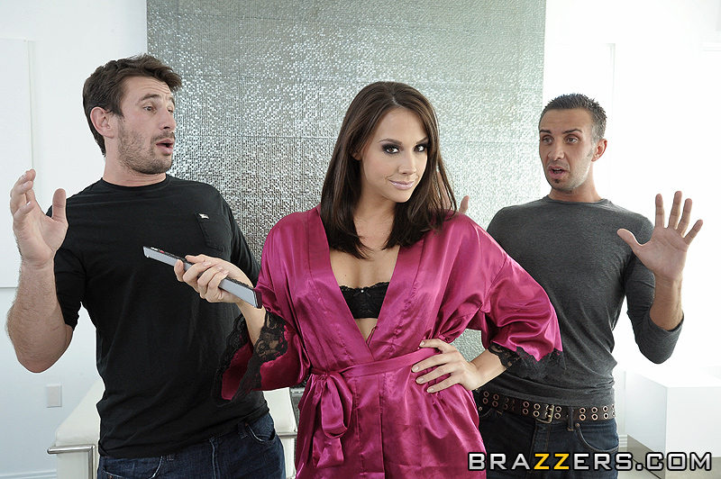 мрії Chanel Preston секс з двома хлопцями