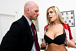 brazzers johnny sins, the trade off