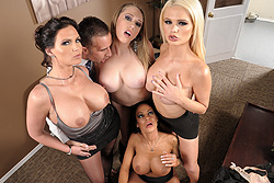 brazzers anthony rosano, office 4-play iii