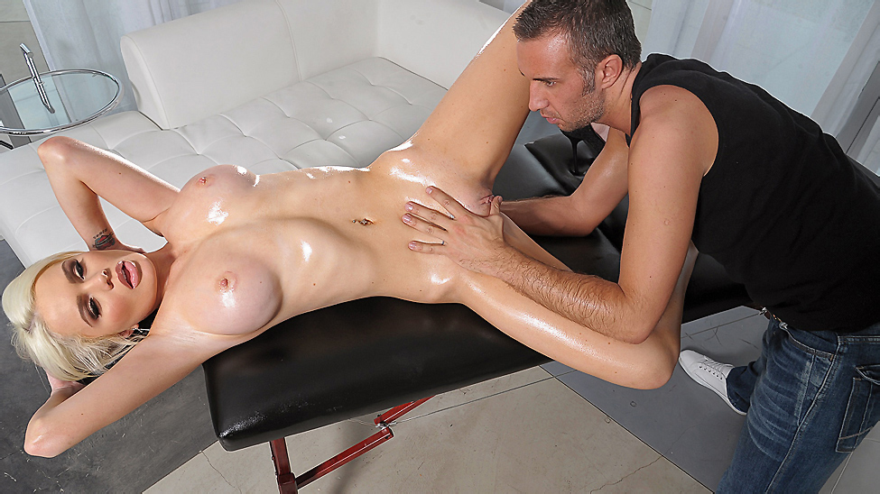 The Flirty Masseur