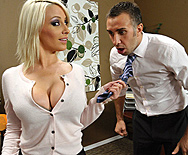 Swallowing her Boss - Lexi Swallow - 1