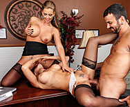 Sexual Harassment In The Work Place - Phoenix Marie - Rachel Starr - 3