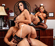 Sexual Harassment In The Work Place - Phoenix Marie - Rachel Starr - 4