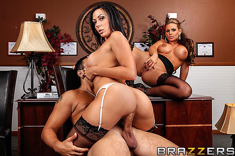 Bigs tits at work