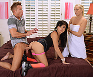 Stepmother Teaches Anal - Julia Ann - Mandy Sky - 1