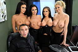 brazzers , office 4-play iv