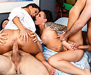 I Still Haven't Fucked What I'm Looking For - Asa Akira - Christy Mack - 5