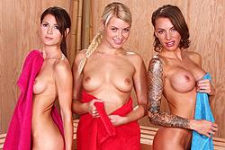 Hot Sauna Pussy
