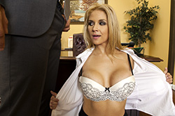 brazzers ashley, secretary switch