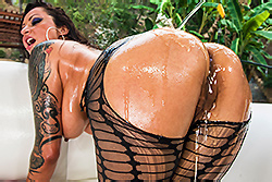 brazzers deena daniels, czech out my ass