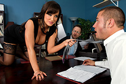 brazzers lisa ann, settling out of cunt