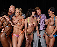 Miss Titness America - Brandi Love - Diamond Jackson - Jewels Jade - Kendra Lust - 1