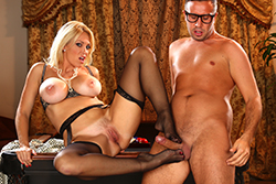 brazzers , charlee chase, in all her glory hole