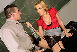 brazzers , how to handle your students: 101
