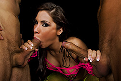 brazzers aleksa nicole, private dancer double penetration
