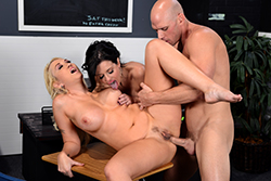brazzers , alana & veronica's high school reunion