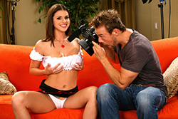 brazzers lorena sandra, dirty debut