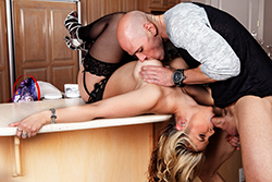 brazzers johnny sins, steak and bj day
